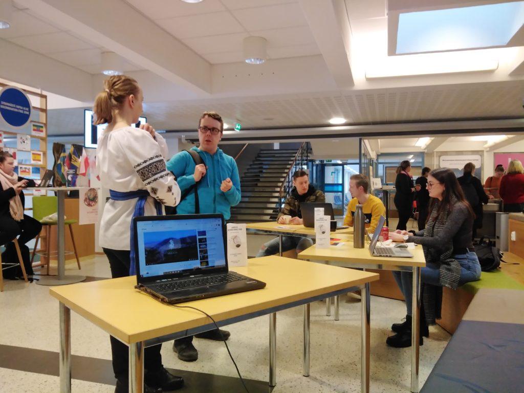 student erasmus la facultate in Finlanda