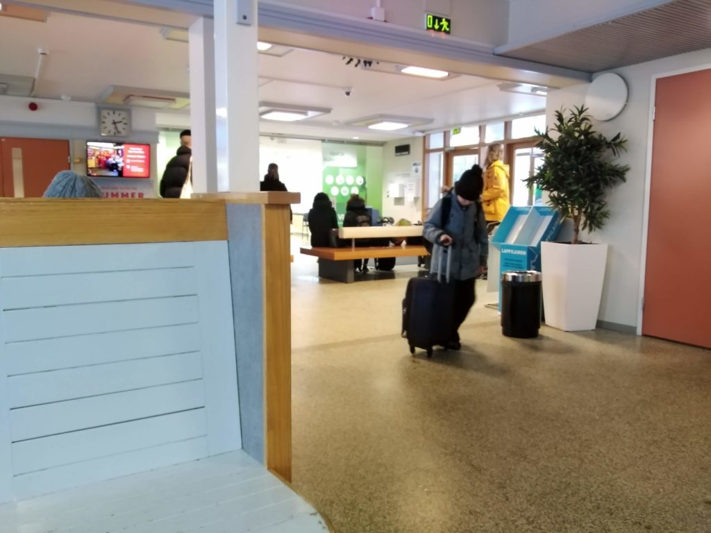 gara Rovaniemi, capitala Laponiei