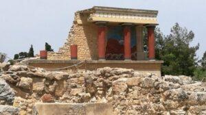 Knosos Pallace, Crete trip 2017